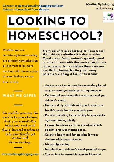 Homeschool Flyer